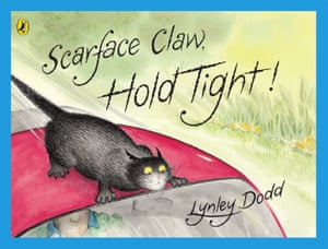 cover image for Scarface Claw, Hold Tight! by Lynley Dodd