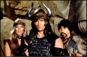 Conan the Barbarian, 1982Designed Conan's world, armour, architecture and weapons in this heroic fantasy.