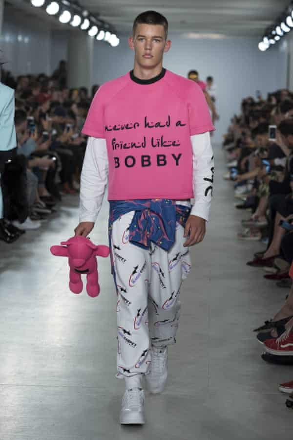 Bobby Abley at London Collections Men S/S 17