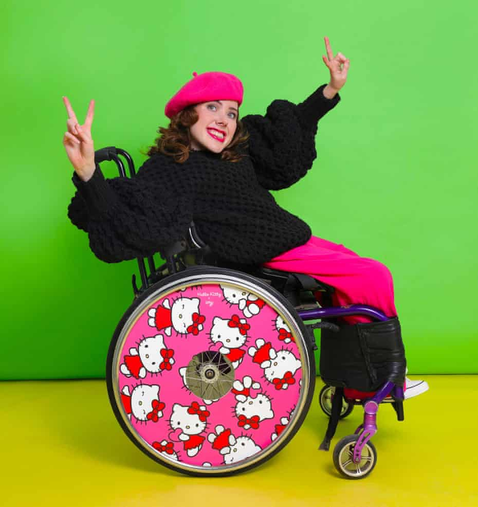 Izzy Keane, campaigner and co-founder of Izzy's Wheels