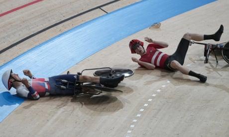 GB dethroned in men's Olympic team pursuit amid Danish crash controversy