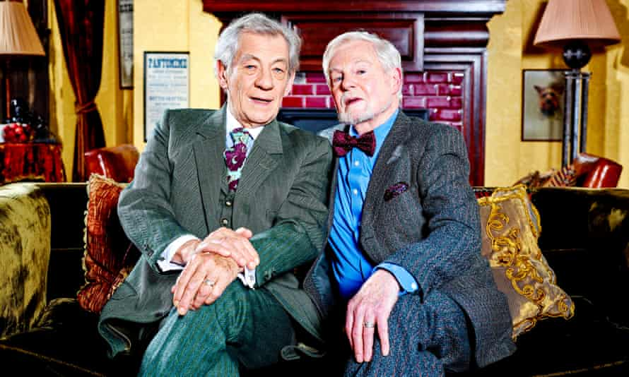 'He's got more energy' … with Derek Jacobi in Vicious.