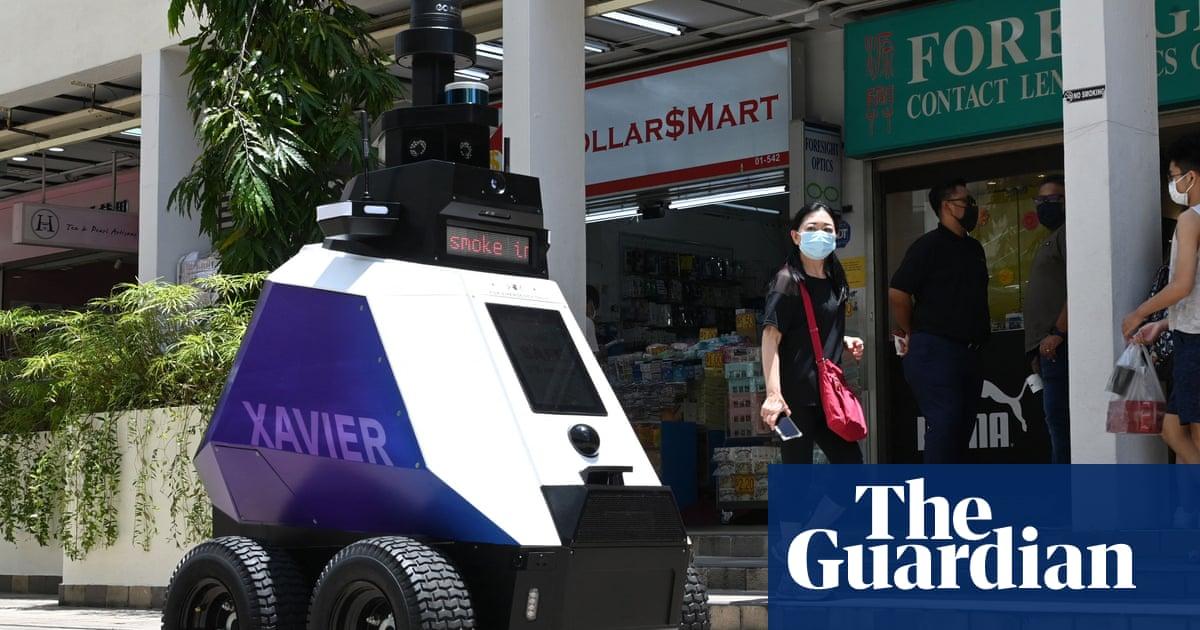 'Dystopian world': Singapore patrol robots stoke fears of surveillance state
