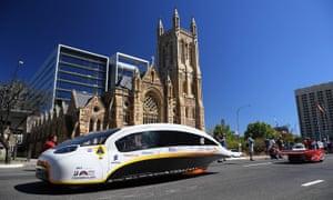 Eindhoven's vehicle Stella Vie in Adelaide.
