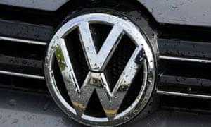 The VW logo