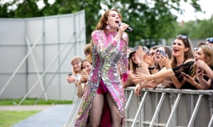 Kate Nash performs at Community festival in Finsbury Park last weekend