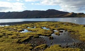 A view of Ardnish across Loch Ailort, Scotland