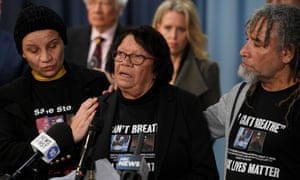 Leetona Dungay, the mother of the late David Dungay Jr, at a press conference at NSW parliament in Sydney on 10 June