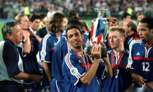 Your Djorkaeff winning Euro 2000 with France.