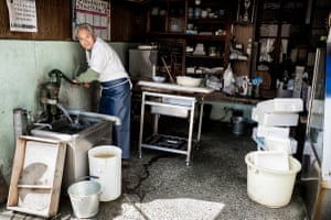 In a quiet suburban neighbourhood, this fishmongers has been in business since 1935
