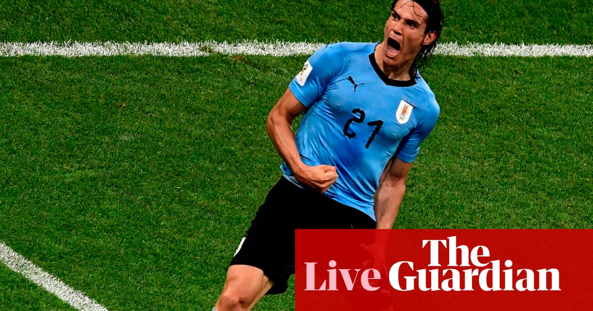 89a8a5567 World Cup 2018  Uruguay 2-1 Portugal – as it happened