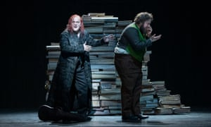 Christopher Purves as Mephistopheles and Allan Clayton as Faust.