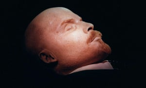 It's thought to cost the Russian state 13 million roubles per year to maintain Lenin's body.