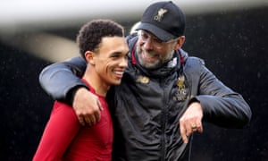 Jürgen Klopp says Trent Alexander-Arnold has had to work hard to fulfil his potential