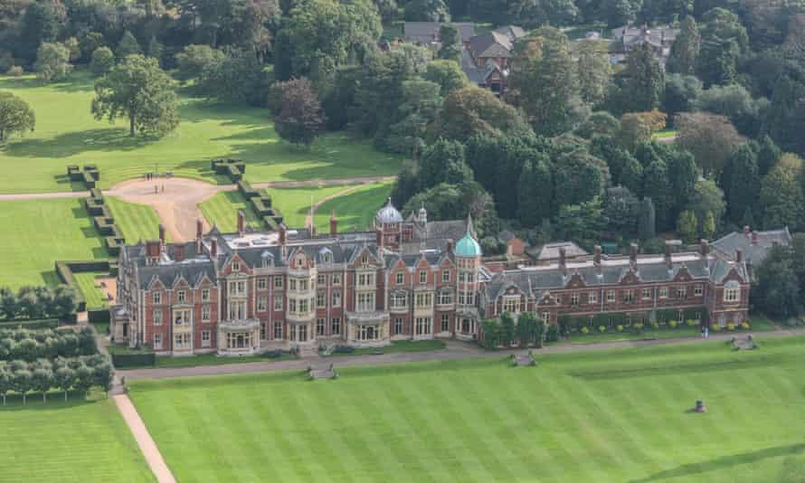 Queen Elizabeth's Sandringham estate.