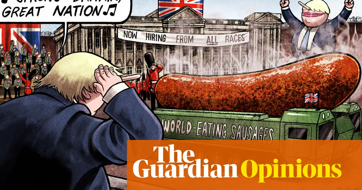 Ben Jennings on a patriotic song and a Brexit sausage battle