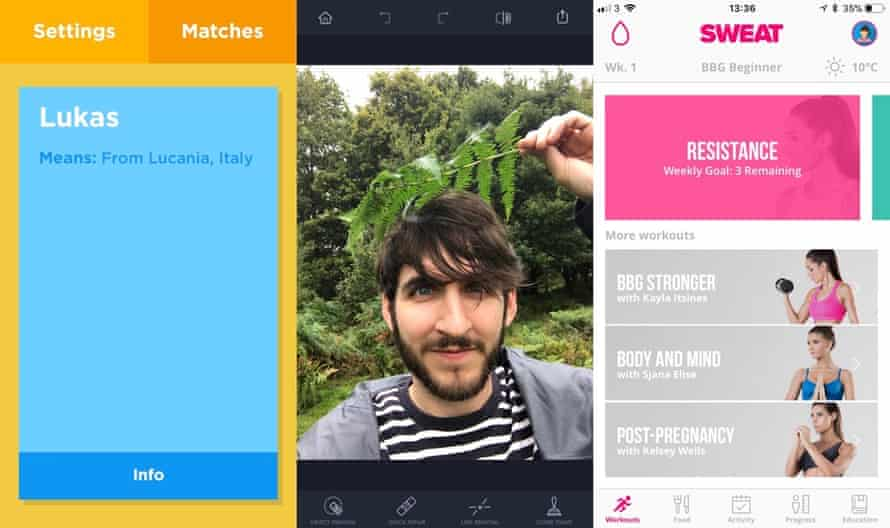 Apps of the Day: Babyname, Touchretouch, Sweat