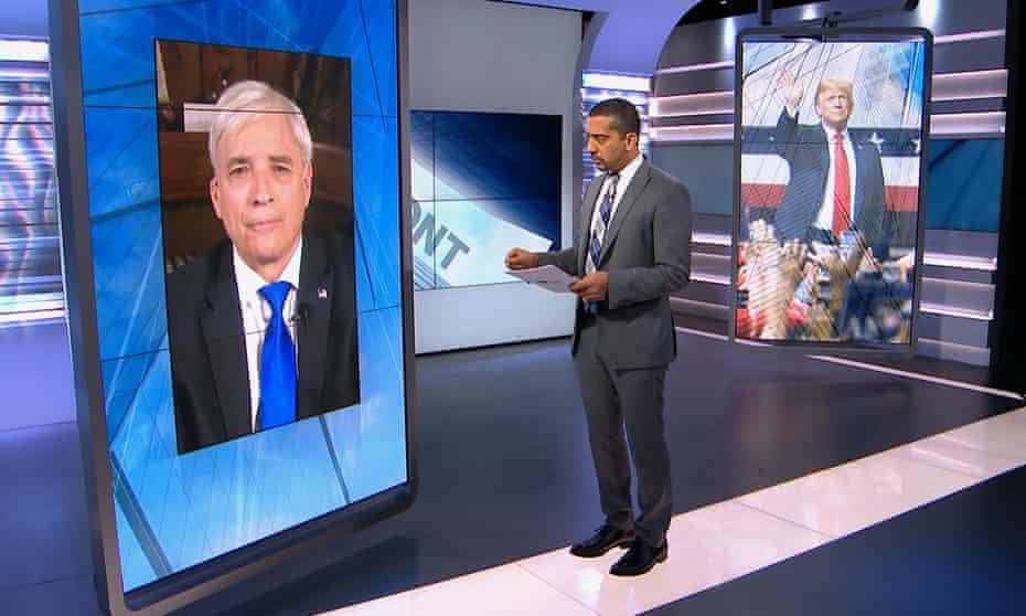 Mehdi Hasan interviews Steven Rogers on Al Jazeera English