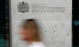 FILES-BRITAIN-EU-STOCKS-BREXIT-POLITICS(FILES) In this file photo taken on June 27, 2016 Pedestrians pass the entrance to the London Stock Exchange in central london on June 27, 2016. - The Hong Kong Stock Exchange on October 8, 2019 dropped its multibillion-dollar takeover bid for the prized London Stock Exchange Group, which would have created a global markets titan. (Photo by ODD ANDERSEN / AFP) (Photo by ODD ANDERSEN/AFP via Getty Images)