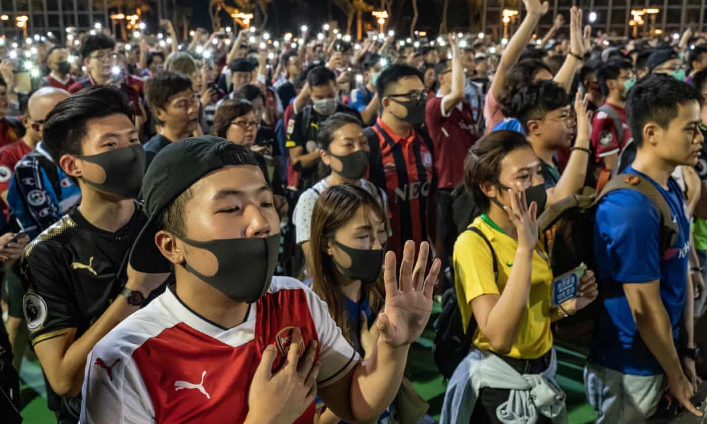 Hong Kong police show 'alarming pattern' of violence at protests