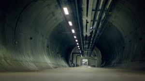 This 100m-long tunnel that leads to the Svalbard global seed vault is only accessed once or twice a year for global deliveries