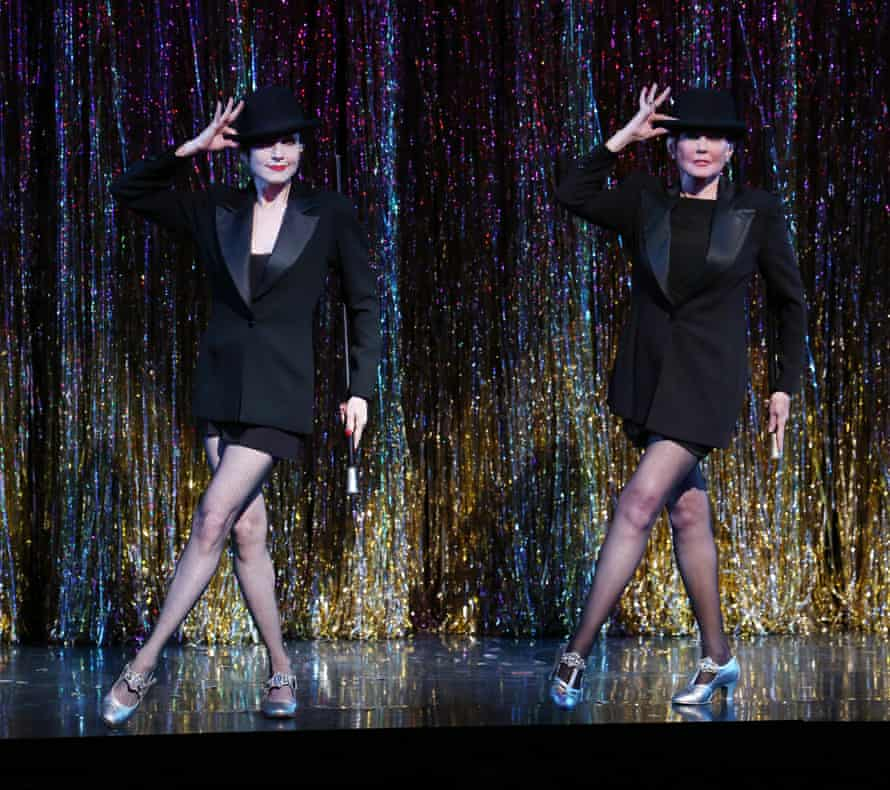 Ann Reinking, right, with Bebe Neuwirth in a performance of Chicago in 2006.