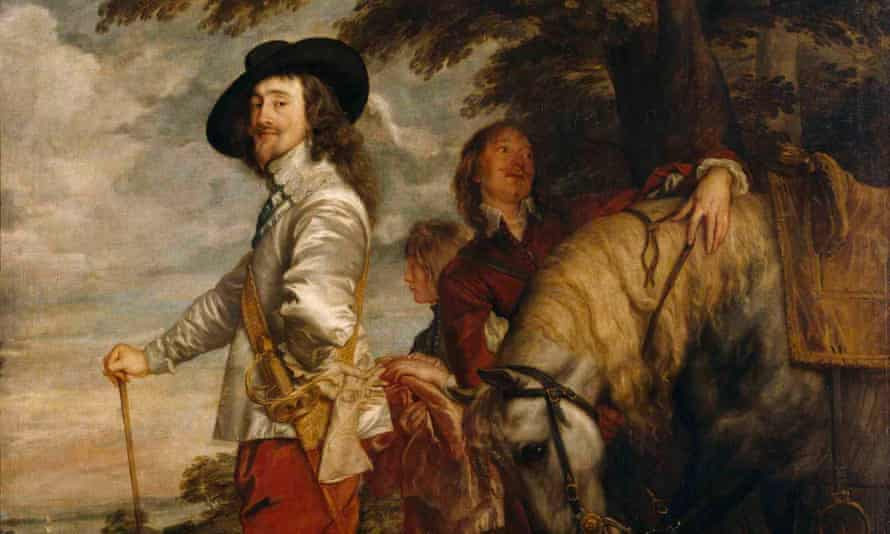 The Louvre is lending an Anthony van Dyck portrait of Charles I.