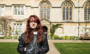 Student Lauren Hall in Oxford
