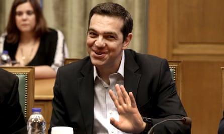Alexis Tsipras, the Greek prime minister