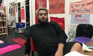 Iran Giusti, 29, a São Paulo-based LGBT activist