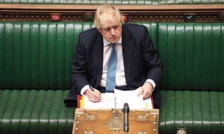 Boris Johnson so craves an audience he would risk MPs' health to have one | Chris Bryant