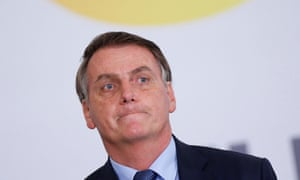Bolsonaro also said: 'All Australia caught fire and nobody's talking about Australia. Where is the zealotry for Australia?'