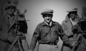 William Wyler on set.