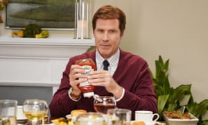 Will Ferrell as Greg during the Heinz sketch.