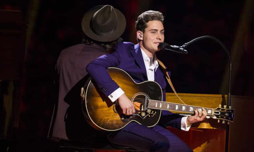 Douwe Bob is representing The Netherlands at Eurovision