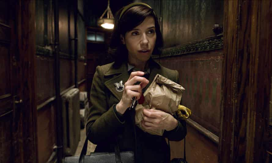 Sally Hawkins as Elisa in Guillermo del Toro's The Shape of Water