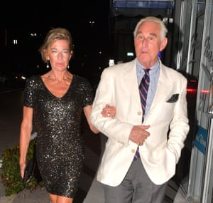 Katie Hopkins dined with American conservative lobbyist Roger Stone during a visit to Florida in May