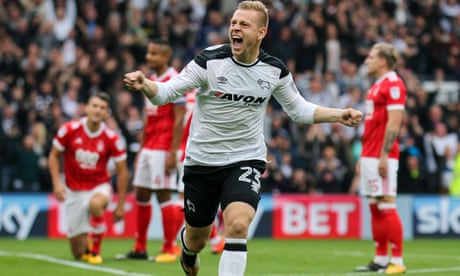 Matej Vydra takes 24 seconds to inspire Derby to win against Nottingham Forest