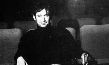 David Sherwin in 1969: he represented the first initial in the name of the production company, SAM, he formed with Lindsay Anderson and Malcolm McDowell.