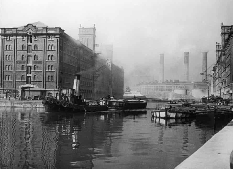 Liverpool Docks.