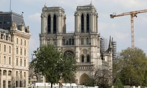 Work on Notre Dame was due to have begun in March, but was delayed by the lockdown.