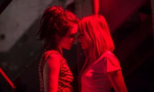 Six episodes hovering near each other's faces ... Sophie Cookson as Sidney and Naomi Watts as Jean/Diane in Gypsy.
