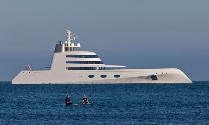 Superyachts And Bragging Rights Why The Super Rich Love