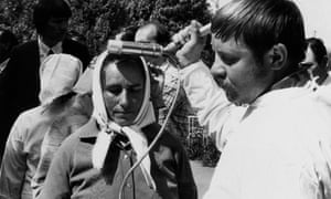 Radiation testing in Ukraine after the disaster.