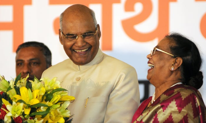 636f4c453a8 India low-caste leader elected president in boost for Modi coalition ...