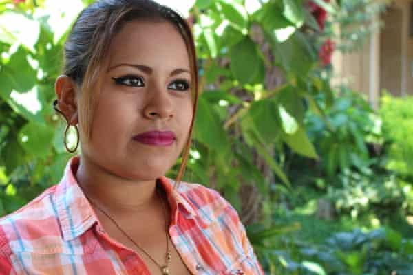 Reina Espinoza, a sex worker rights defender from Colectiva Venus in El Salvador