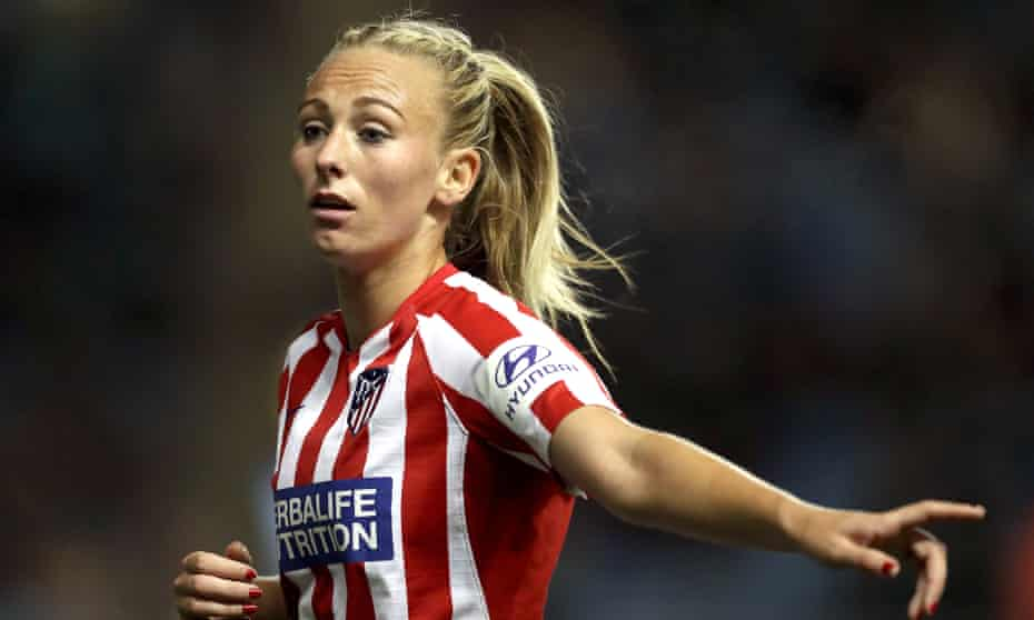 Atletico Madrid's Toni Duggan will not play this weekend as the Primera División players go on strike.