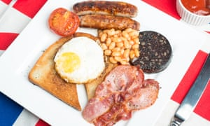 Traditional full breakfast