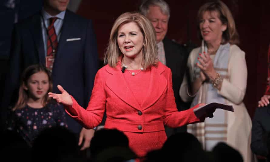Marsha Blackburn has been closely aligned with Trump.
