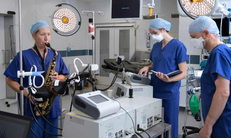 'Higher risk' … researchers assess the dangers of saxophone-playing.